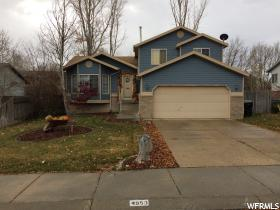 Home for sale at 4953 W Decora Way, West Jordan, UT  84088. Listed at 297500 with 4 bedrooms, 2 bathrooms and 1,984 total square feet
