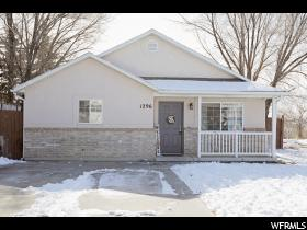 Home for sale at 1296 N 925 West, Harrisville, UT  84404. Listed at 195000 with 3 bedrooms, 1 bathrooms and 1,125 total square feet