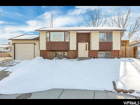 Home for sale at 6536 S Clernates Cir, West Jordan, UT  84081. Listed at 292900 with 4 bedrooms, 2 bathrooms and 1,926 total square feet