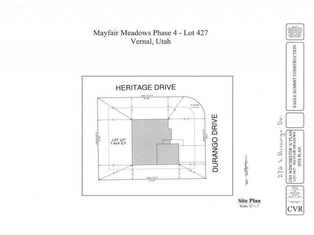276 S 2960 (DURANGO) DR W Vernal, UT 84078 - MLS #: 1266011