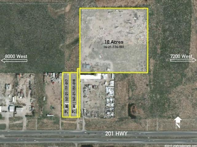Land for Sale at 7774 W 201 S HWY Magna, Utah 84044 United States
