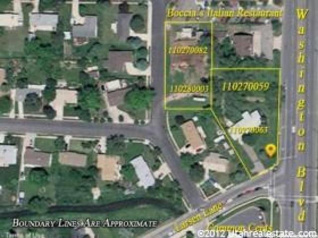 Land for Sale at 987 N WASHINGTON Boulevard 987 N WASHINGTON Boulevard Ogden, Utah 84404 United States