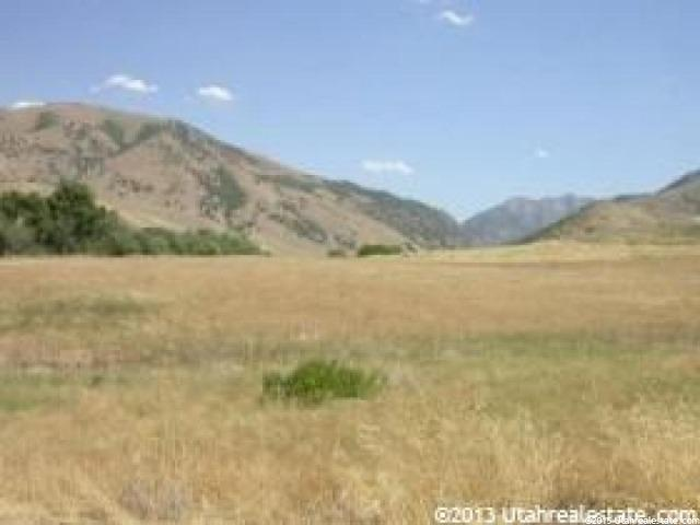 Land for Sale at 1300 E CANYON Road 1300 E CANYON Road Avon, Utah 84328 United States
