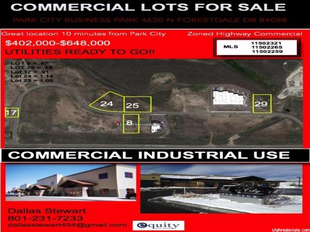 4328 N FORESTDALE DR Park City, UT 84098 - MLS #: 1314161