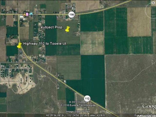 Terrain pour l Vente à 1050 E 100 S Grantsville, Utah 84029 États-Unis