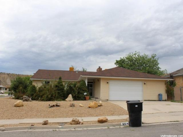 915 N 300 Price, UT 84501 - MLS #: 1317299
