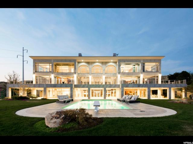 Home for sale at 661 N Saddle Hill Rd, Salt Lake City, UT  84103. Listed at 5850000 with 5 bedrooms, 9 bathrooms and 14,879 total square feet