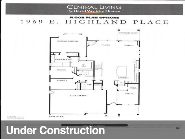 1969 E HIGHLAND PLACE LN Unit 1, Holladay UT 84117