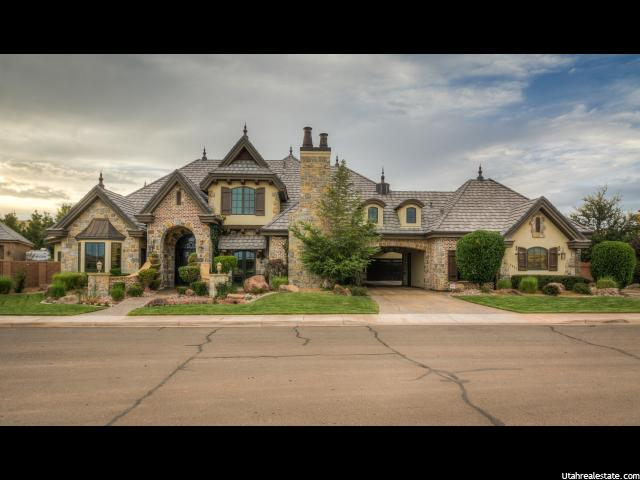 单亲家庭 为 销售 在 2512 MALAGA Avenue 圣克拉拉, 犹他州 84765 美国