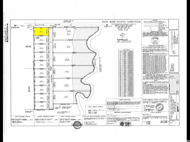 Terreno por un Venta en 15585 N 4950 W Riverside, Utah 84334 Estados Unidos