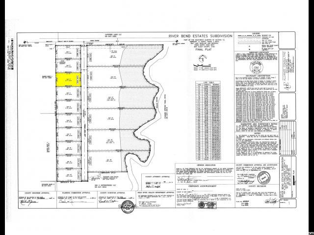 土地 为 销售 在 15545 N 4950 W Riverside, 犹他州 84334 美国