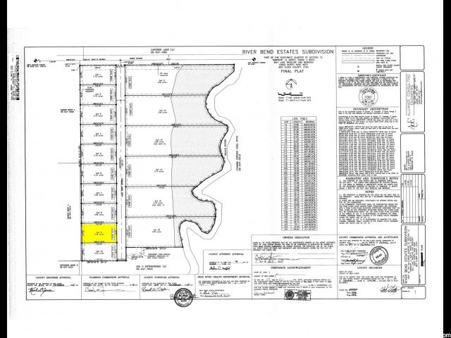土地 为 销售 在 15425 N 4950 W Riverside, 犹他州 84334 美国