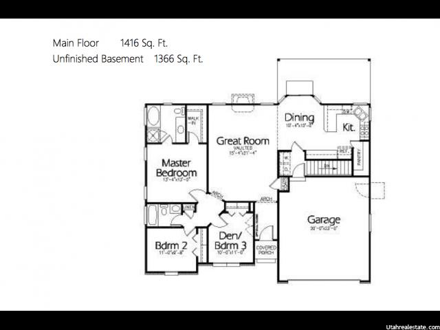 1966 W BIG SKY DR Stockton, UT 84071 - MLS #: 1343448