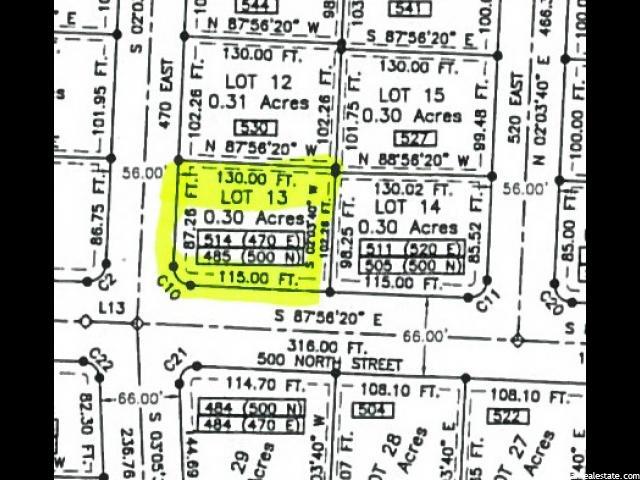 485 E 500 N Providence, UT 84332 - MLS #: 1343521