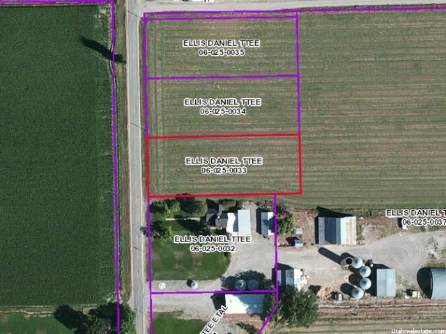 Terrain pour l Vente à 15944 N 4000 W Fielding, Utah 84311 États-Unis