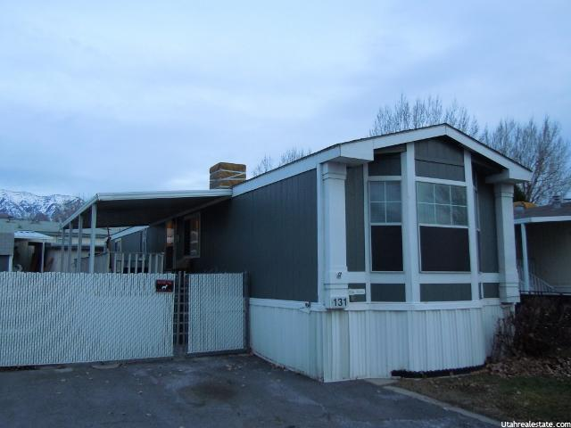 Orem Utah Home Under $100,000 155 S 1200 W, Unit 131, Orem, UT 84058 (MLS # 1346720)