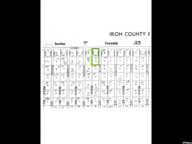 0 Cedar City, UT 84721 - MLS #: 1350022