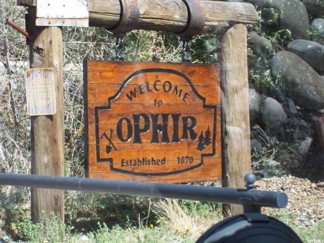 Ophir, UT 84071 - MLS #: 1356983