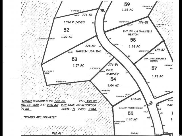 800 S ZION RIDGE RD Orderville, UT 84758 - MLS #: 1362674
