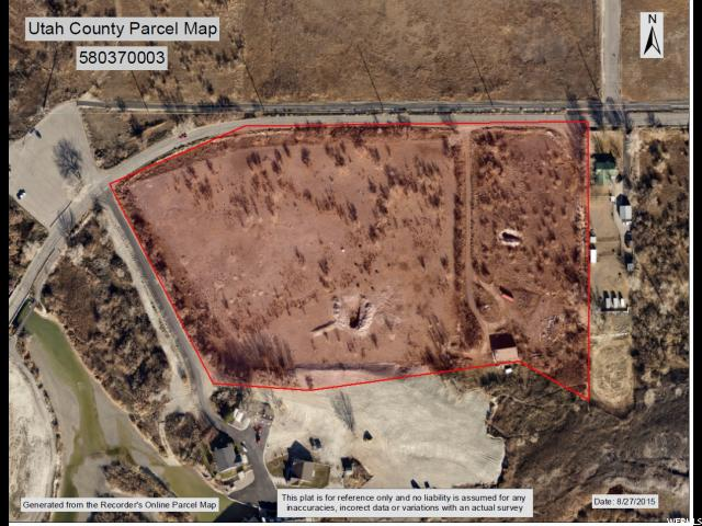 Land for Sale at 9950 W SARATOGA Road Saratoga Springs, Utah 84043 United States
