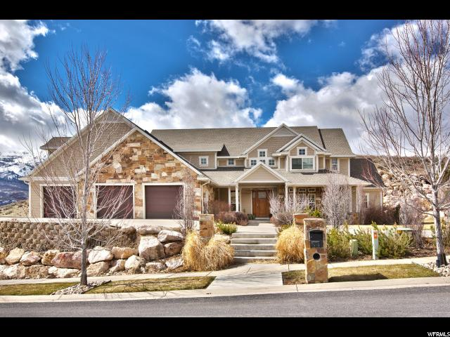 Unique la famille pour l Vente à 5619 N SILVER LEAF Circle Mountain Green, Utah 84050 États-Unis