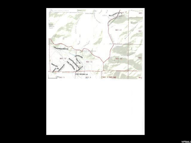 MAYFLOWER MTN @ DEER VALLEY DR Heber City, UT 84032 - MLS #: 1365353