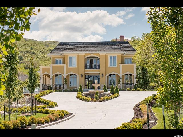 Single Family for Sale at 3321 S SUNSET HOLLOW Drive Bountiful, Utah 84010 United States