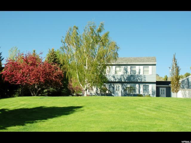 Один семья для того Продажа на 1766 CEDAR Road Soda Springs, Айдахо 83276 Соединенные Штаты