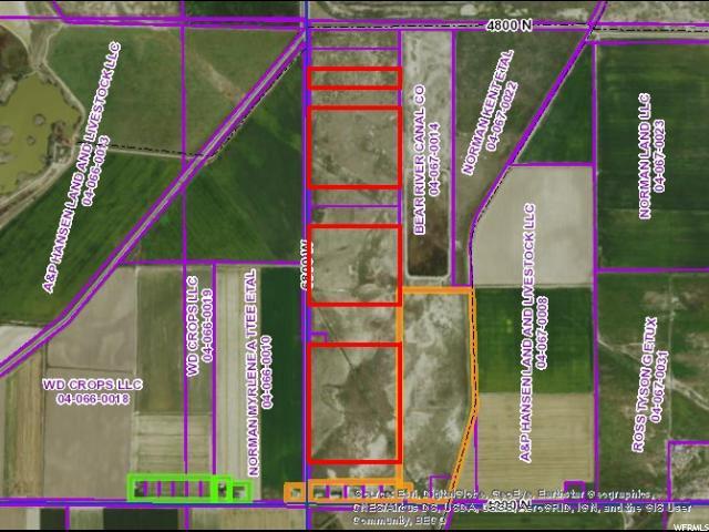 Terrain pour l Vente à 4100 N 6800 W Bear River City, Utah 84301 États-Unis