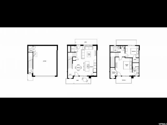 276 N WEST TEMPLE ST Unit 3 Salt Lake City, UT 84103 - MLS #: 1370772