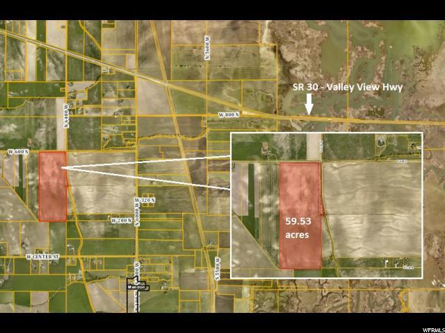 Terrain pour l Vente à 6450 W 600 N Petersboro, Utah 84325 États-Unis