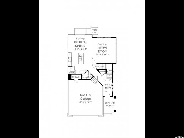 Additional photo for property listing at 4968 W SPIRE WAY 4968 W SPIRE WAY Unit: 22 Herriman, Utah 84096 États-Unis