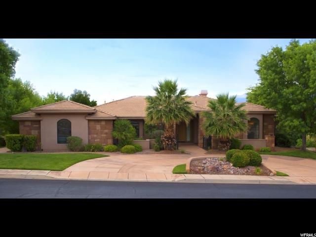 Single Family for Sale at 2307 E COBALT Drive St. George, Utah 84790 United States