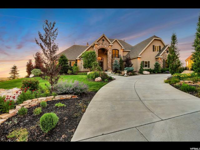 Single Family for Sale at 3185 E LAYTON RIDGE Drive Layton, Utah 84040 United States