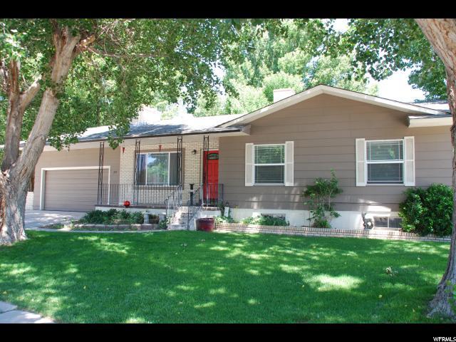 Один семья для того Продажа на 143 S MEADOWBROOK Drive Salina, Юта 84654 Соединенные Штаты