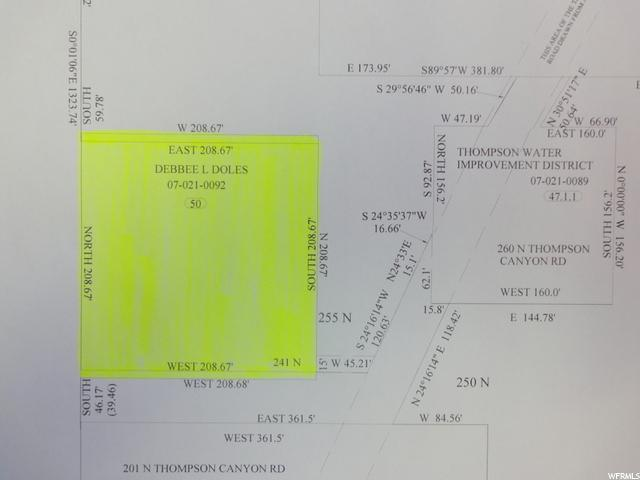 241 N THOMPSON CANYON RD Thompson, UT 84540 - MLS #: 1391499