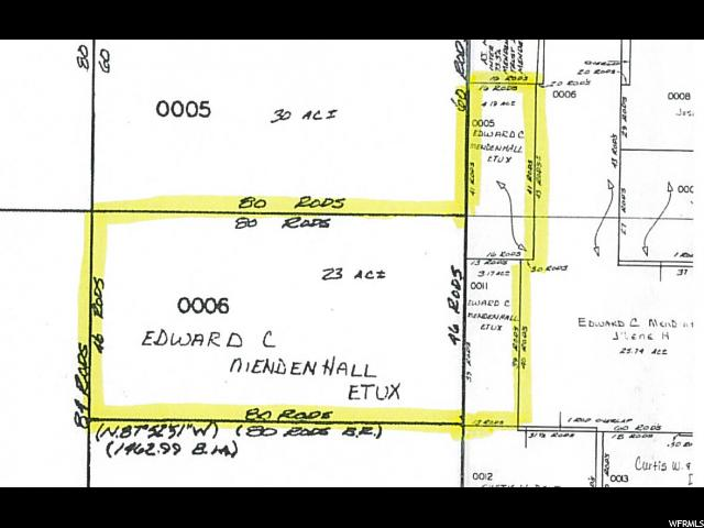 Land for Sale at 9300 N 200 E Richmond, Utah 84333 United States