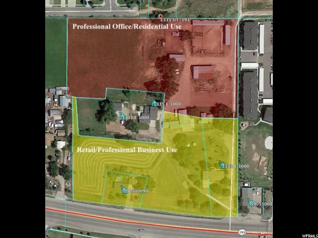 Land for Sale at 1333 E 3000 N 1333 E 3000 N Layton, Utah 84040 United States