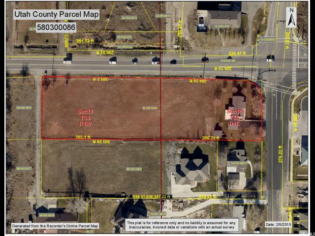 Land for Sale at 2320 W MAIN Street Lehi, Utah 84043 United States