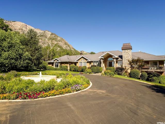 单亲家庭 为 销售 在 4680 N POLE PATCH Drive Pleasant View, 犹他州 84414 美国
