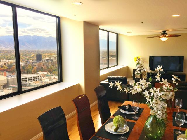 Home for sale at 48 W 300 South #2201-N, Salt Lake City, UT  84101. Listed at 499000 with 2 bedrooms, 2 bathrooms and 1,506 total square feet