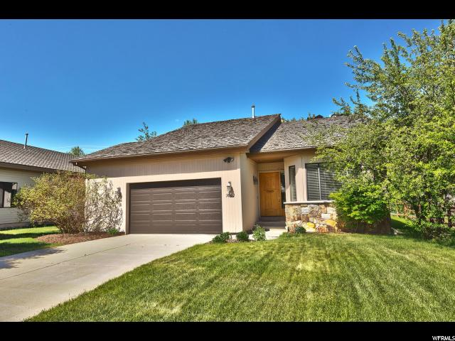 Single Family for Sale at 1640 W SILVER SPRINGS Road Park City, Utah 84098 United States