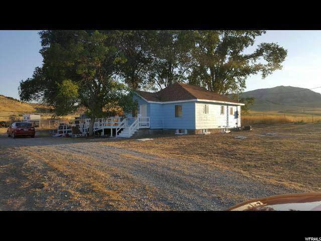 Один семья для того Продажа на 7599 W HWY 36 Weston, Айдахо 83286 Соединенные Штаты