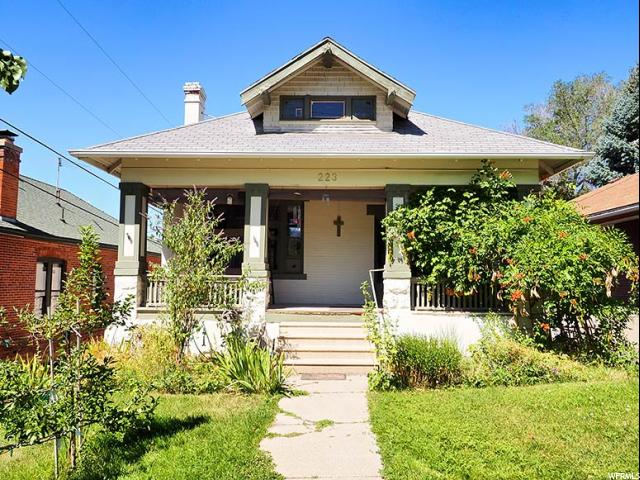 Home for sale at 223 N K St, Salt Lake City, UT 84103. Listed at 569900 with 7 bedrooms, 4 bathrooms and 5,137 total square feet