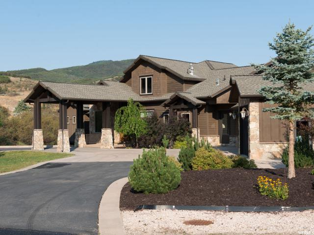 Single Family for Sale at 6484 E SUMMIT COVE Drive Huntsville, Utah 84317 United States