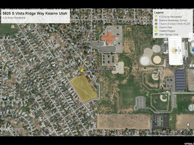 Land for Sale at 5825 S VISTA RIDGE WAY Kearns, Utah 84118 United States
