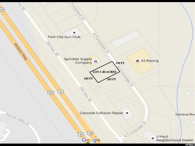 Terrain pour l Vente à 4175 N FORESTDALE DR Drive Snyderville, Utah 84098 États-Unis