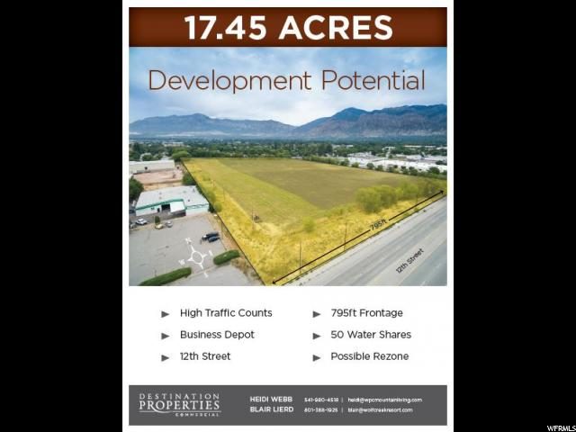 Land for Sale at 450 W 12TH Street Ogden, Utah 84404 United States