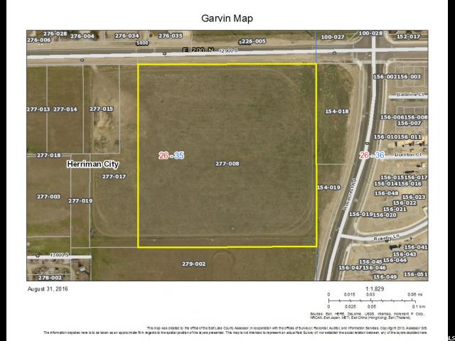 Land for Sale at 5700 W 12900 S 5700 W 12900 S Herriman, Utah 84096 United States