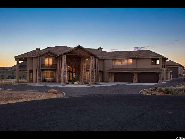 Single Family for Sale at 533 W CANYON TRAILS Circle Dammeron Valley, Utah 84783 United States